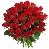 49 Red Roses Bouquet