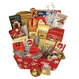 A Cozy Christmas Medium Gift Basket