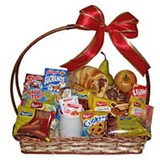 Breakfast basket for a person
