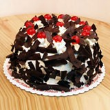 Black forest brimming with cherries