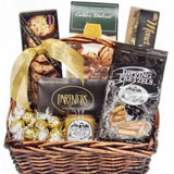 Chocolates and Cookies Gift Basket
