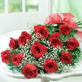 12 Red Rose Bouqet