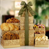 Gourmet Gold Gift Tower