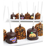 Halloween Chocolate Covered Marshmallow