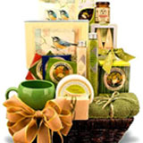Natural Spa Gift Basket