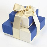 Premium Blue Gift Tower