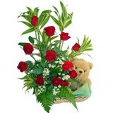 Rose Basket Bear