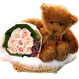 Roses and Teddy for You