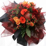 Roses carnations and Gerberas