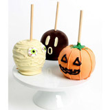 Spooktacular Halloween Caramel Apple