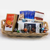 Swiss Chocolate Gift Basket